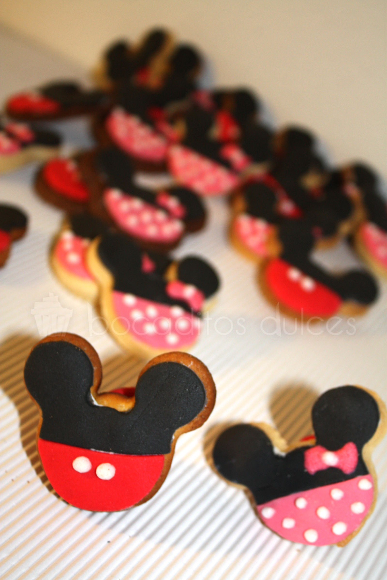 Galletas De Mickey O Minnie