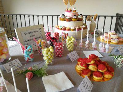 comprar mesa dulce boda desechable 2