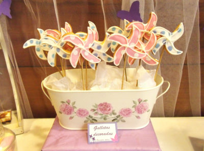 Galletas piruleta de mantequilla personalizadas