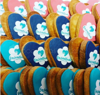 galletas decoradas para evento de Mattel