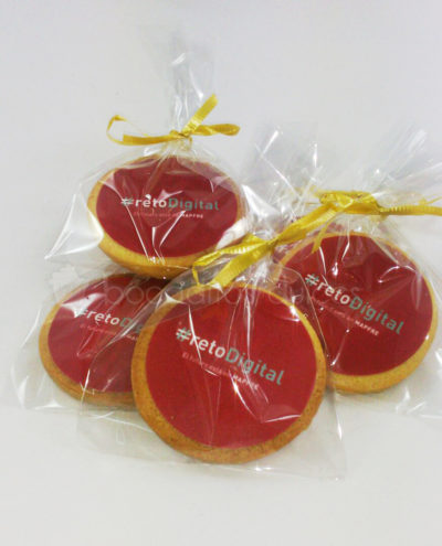 galletas decoradas con logo de empresa
