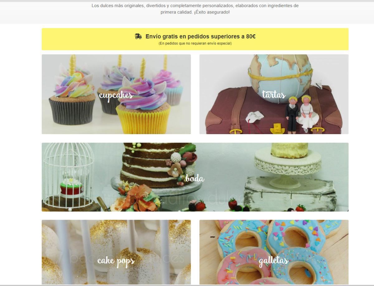 portada productos web bocaditos dulces