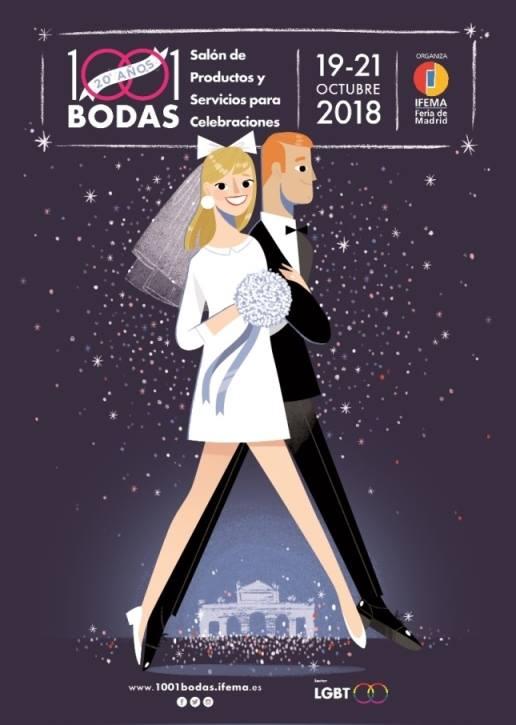 cartel 1001 bodas ifema 2018