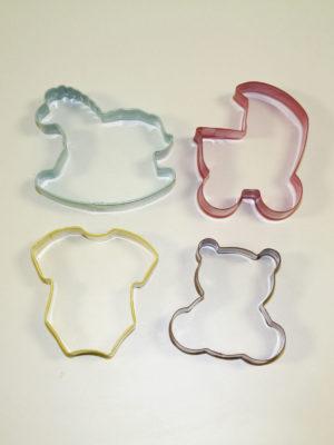 CORTSET04 Set cortadores metalicos bebe