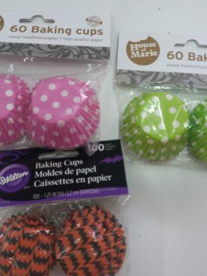 cápsulas de minicupcakes