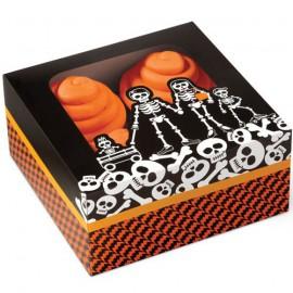 set de 3 cajas de halloween