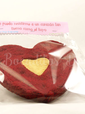 gran cookie de red velvet