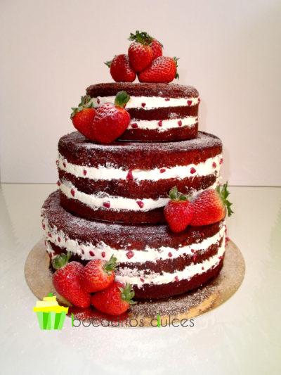 bd-tarta desnuda fresas frutos rojos