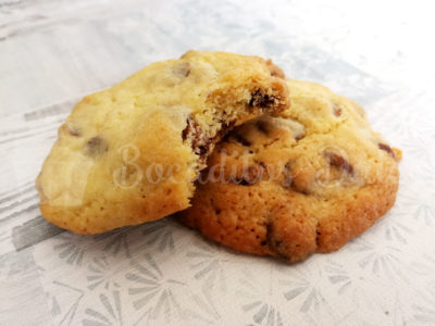 cookie con chips de chocolate