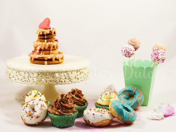 pack de dulces personalizados para celebrar el cumple en casa