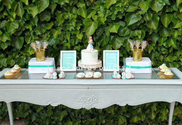 detalles mesa dulce comunión