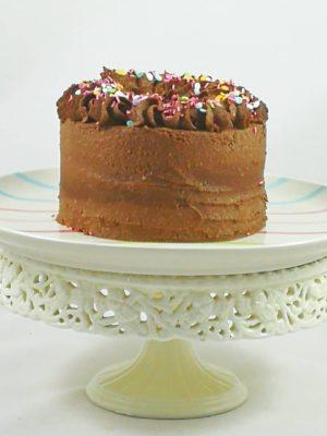 tarta de chocolate saludable personalizada