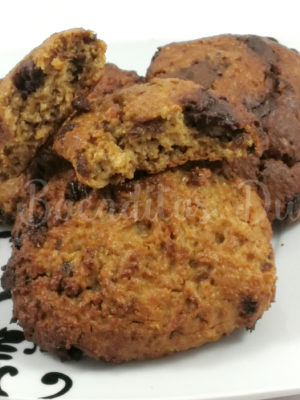 cookies de avena, pasas y chocolate