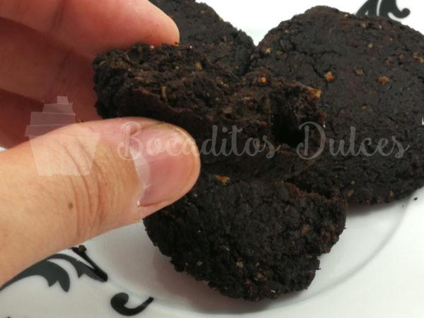 galletas de chocolate y boniato