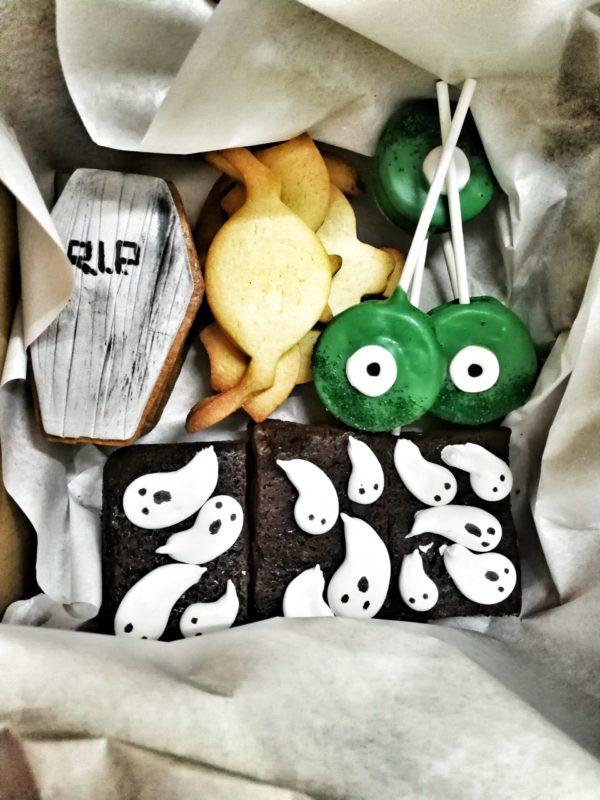 pequeño pack de dulces de Halloween