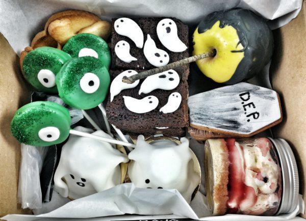 horripilante pack de dulces de Halloween