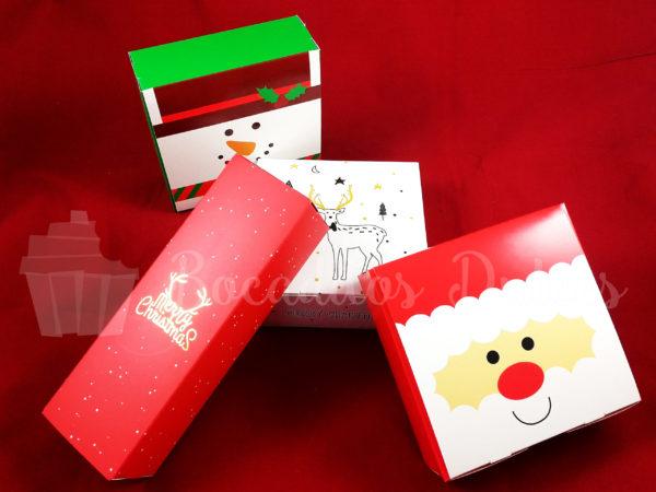 tipos de cajas para las bombas de chocolate