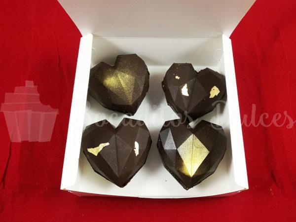 caja 4 bombas de chocolate caliente