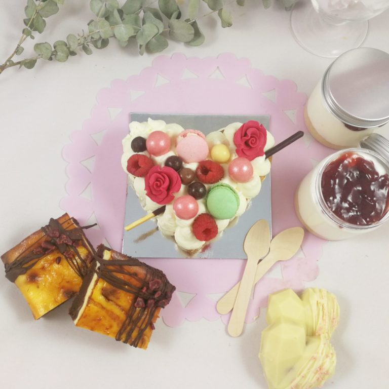 caja de dulces artesanos para regalar en san valentin