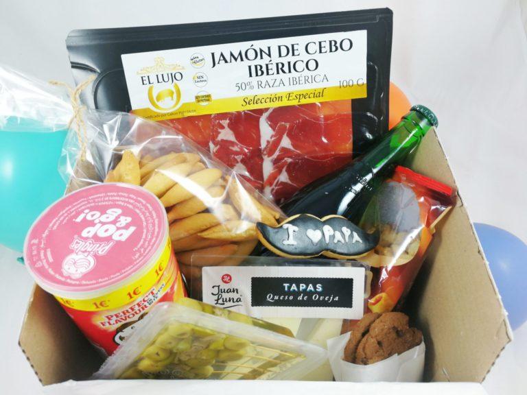 caja aperitivo personalizado